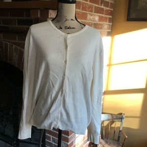 Croft & barrow ivory cardigan